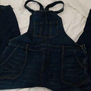 Denim overalls size 18
